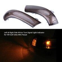 купить A Pair Rear View Mirror Indicator Turn Signal  Light lamp For VW GOLF 5 GTI V MK5 Jetta Passat B5.5 B6 Sharan Superb EOS дешево