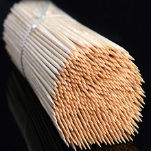 BBQ Tools 300*3mm bbq skewers wood skewer bamboo 500pcs/lot free shipping