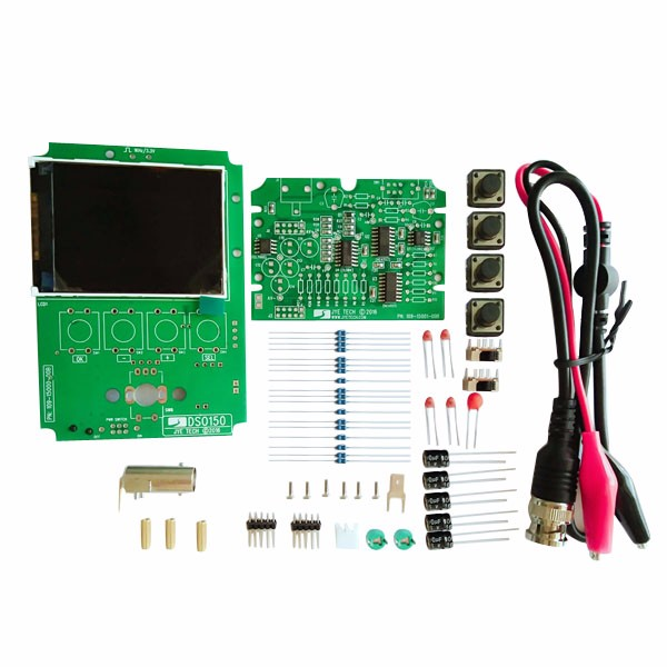 DIY Orignal JYE Tech 15002K DSO-SHELL Digital Oscilloscope Kit SMD Soldered Version high tech and fashion electric product shell plastic mold