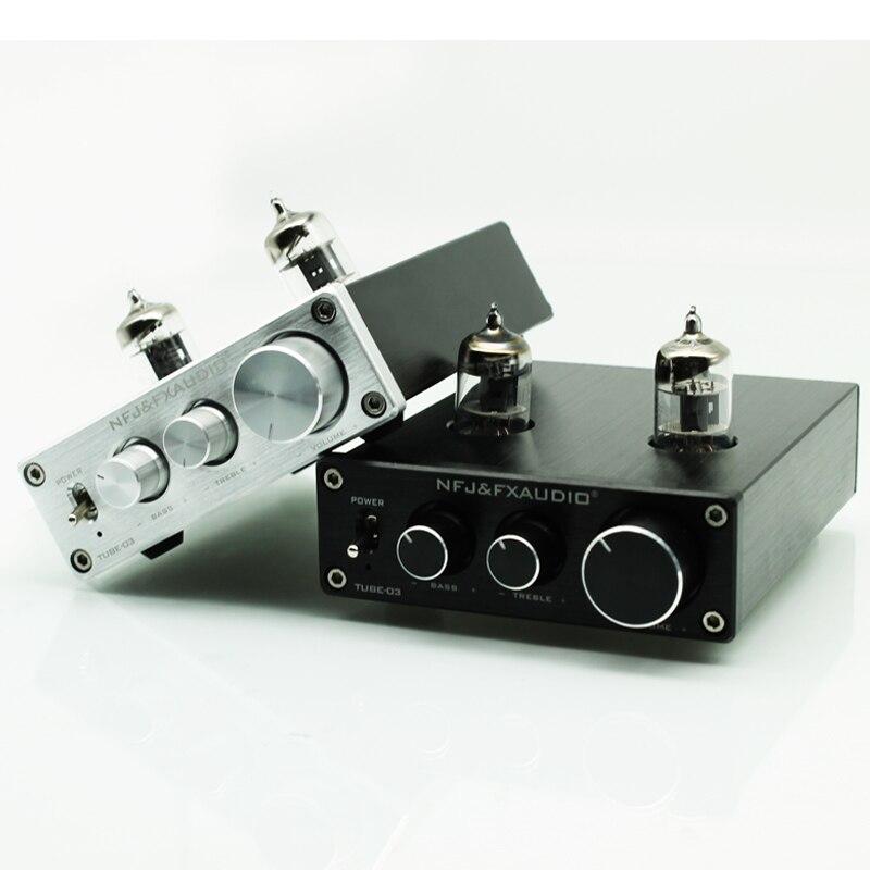2017 FX-Audio Novi TUBE-03 Mini avdio vhodni prednapetostnik DAC zvok - Domači avdio in video - Fotografija 4
