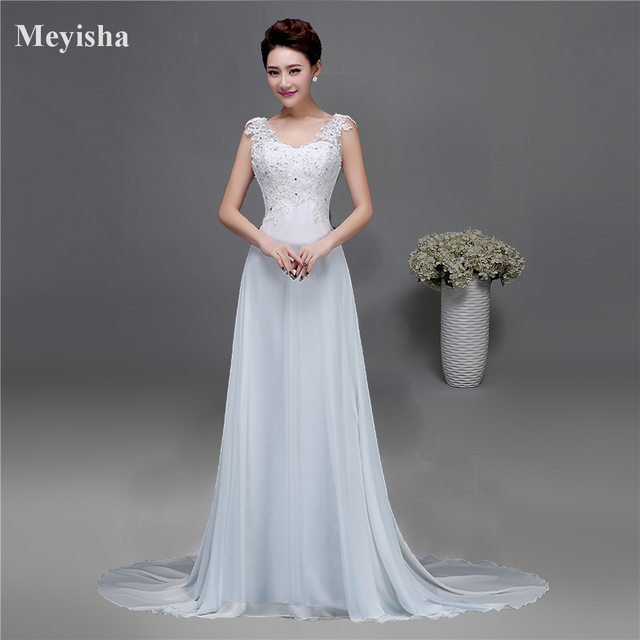 ZJ9054 Corset 2019 Lantejoulas contas de Cristal Do Laço Do Marfim Branco Chiffon Vestidos de Casamento para noivas plus size maxi formal tamanho 2  26 W