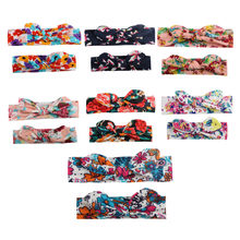 2PCS/Set Mom Mother & Daughter Kids Baby Girl Headband Hair Band Accessories Family Look Baby Turban Baby Bows Mommy And Me 4829(China)