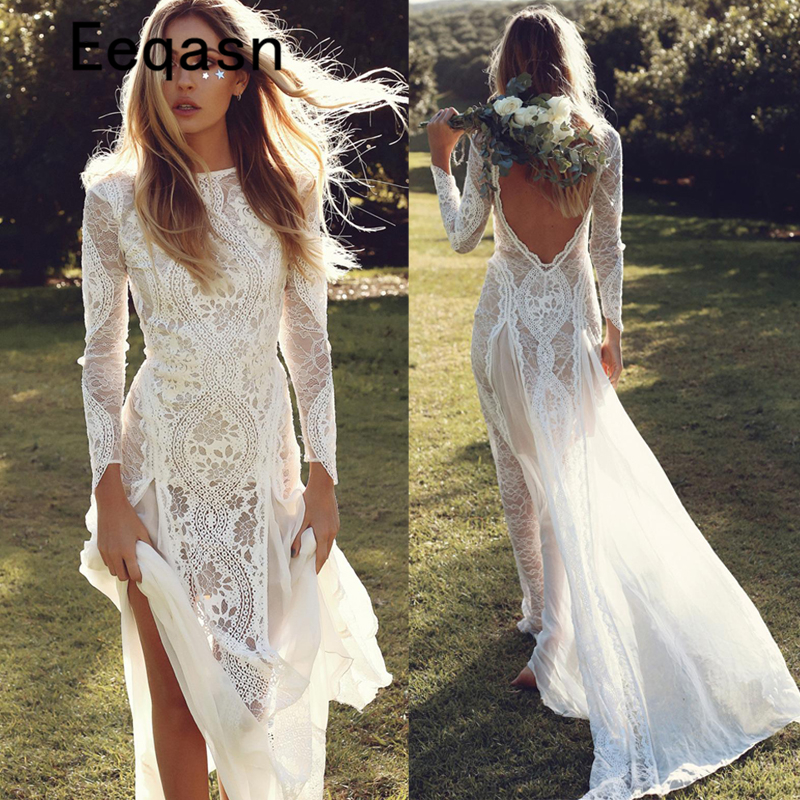 Mermaid Wedding Dress Long Sleeves