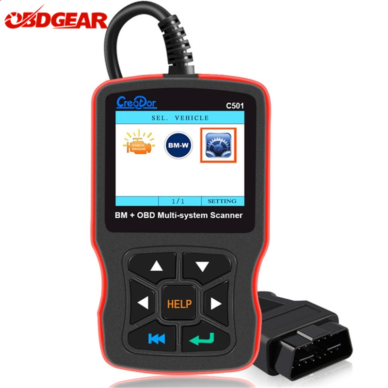 OBD2 Autodiagnostic Scan Tool For BMW All Series Diagnostic Car Scanner Creator C501 OBD Diagnostic Engine Analyzer Fault Reader цена