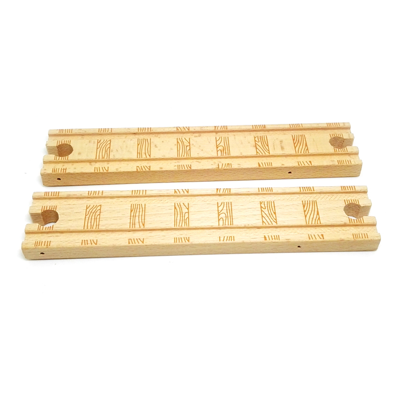 p31 RAILWAY double concave pattern exquisite large-rail Compatible with Thomas wooden train track , track Special accessories