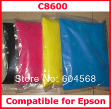 High quality color toner powder compatible for Epson c8600/8600 Free shipping