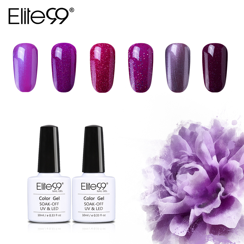 PINK Gel Nail Polish Collection - Choose Your Favorite