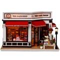 2017 Новый Горячий Продажа Кукольный Дом Мебель Diy Пылезащитный Чехол 3D Деревянные Miniaturas Dollhouse Игрушки для Детей Подарки На День Рождения