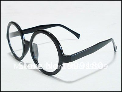 designer fashion plain clear lenses black glasses s