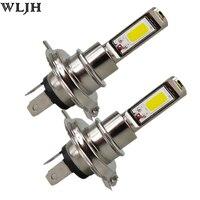 WLJH 2x Xenon White 30W Led H4 H7 H8 H11 9005 9006 Led COB Chip Auto