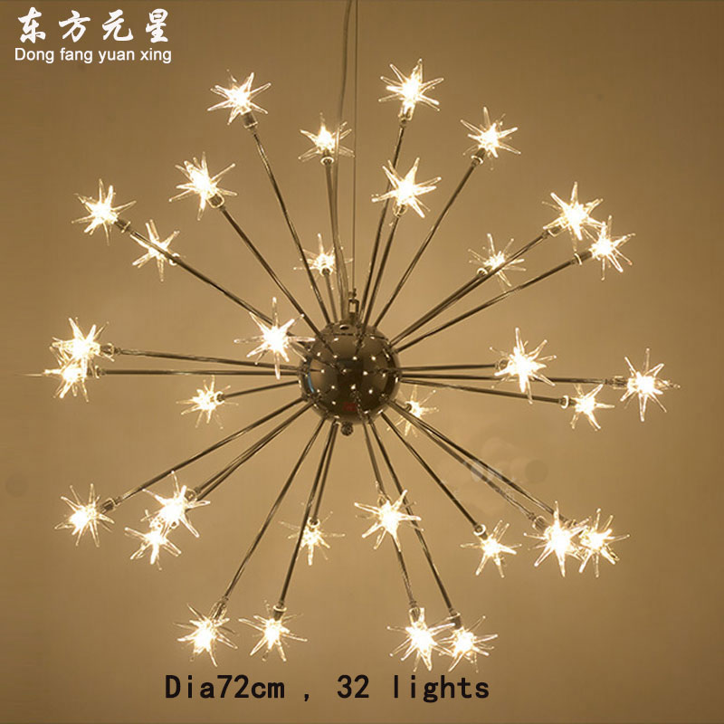 meteor shower style chandelier light LED lamp for dining room art chandelier lighting decoration