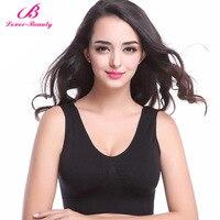 Lover Beauty Women Bra Stretch Brassiere Seamless Underwear Comfortable Bralette Push Up Padded Wire Free Top