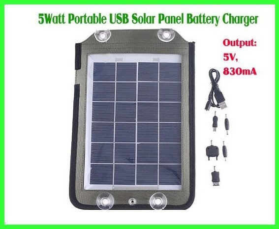 Portable Solar Panel Charger  Output voltage 5V 830mA For Mobile Phone NOKIA SAUSUNG Sports Hiking Outdoor Power Free Shipping
