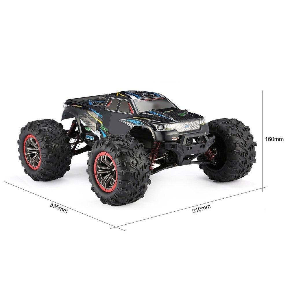 Высокое качество 9125 4WD 1/10 RC гоночный автомобиль с высокой скоростью 46 км/ч Электрический сверхзвуковой грузовик внедорожник багги игрушки РТР - 6