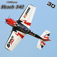 FMS 1300MM 1.3M Sbach 342 PNP Durable EPO Aerobatic 3D Big Scale Radio Control RC Airplane Model Plane Aircraft Avion Hobby 4S
