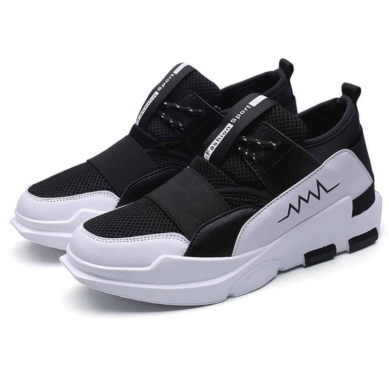 Respirant Cm Mesh Hommes Mocassins Formateurs Casual 2018 Mans Noir 3 2 Zapatos Augmenté 6 Été Hombre Chaussures 1 g0nYpx8x