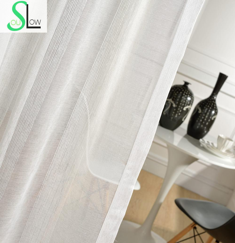 special offer white tulle curtains pastoral french window sheer modern curtain living room tulle bedroom cortinas - Window Sheers