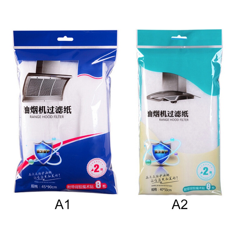 1 Pcs Range Hood Filter Paper Kitchen Oil Filter Paper Transparent Oil-Absorbing Paper Oil-Proof Sticker
