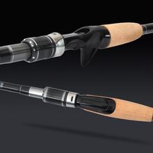 4 Sections Carbon Spinning Casting Fishing Rod with Tube Bag