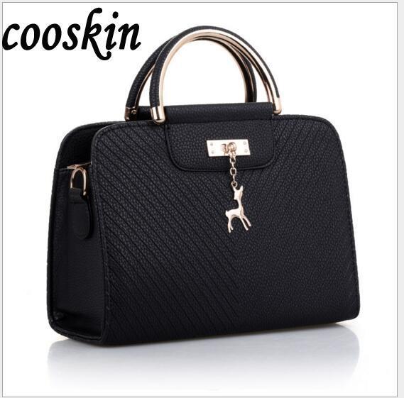 Ringed Penguin Europe and the United States big fashion shoulder bag handbag ladies bag pu handbags