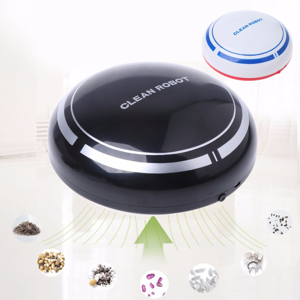 SKYMEN Energy-saving Mini Wireless 5W USB Automatic USB Rechargeable Smart Robot Vacuum Mop Floor Cleaner Sweeping Suction