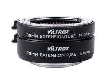 Viltrox DG-1N Auto Focus Macro Extension Tube 10mm+16mm Adapter for Nikon 1 J1 J2 J3 V1 PH