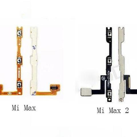 For Xiaomi Mi Max 2 Max 3 Power On Off Button Switch Flex Cable Switch On Off Volume Switch Flex Cable Replacement Parts Pakistan
