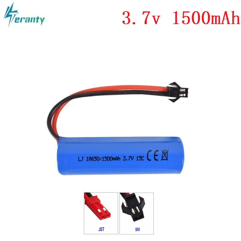 3.7V 1500mAh 15c Lipo Battery Remote Control Helicopter / Airplanes / Car Battery 3.7v 18650 Cylindrical Lipo Battery SM Plug