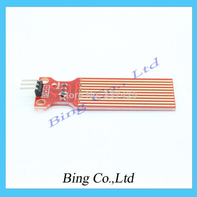 Water Sensor module for Arduino Moisture Droplets of Water Depth detection Free Shipping Dropshipping