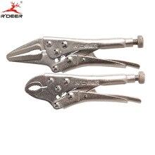 """2 unids Set Mini alicates de sujeción 5 """" / 125 mm punta larga de calabaza y boca alicates multifunción Durable herramientas de mano"""