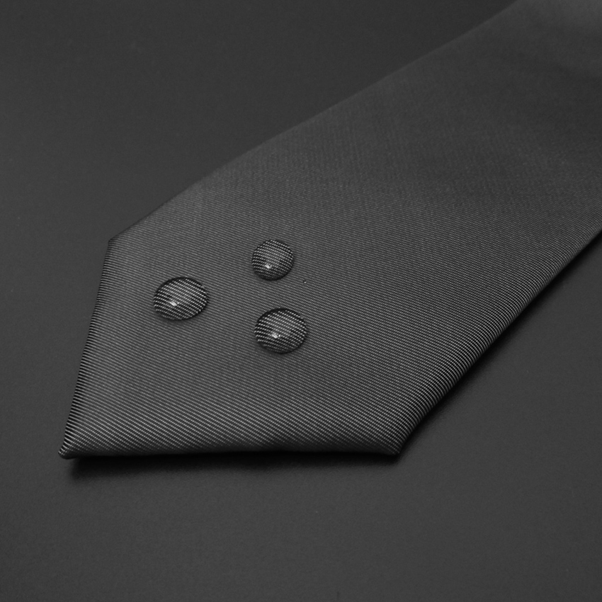 High quality Wedding Polyester silk Solid color Ties For Men Suit Skinny Mens Ties Neck Tie Cravat Business shirt accessories in Men 39 s Ties amp Handkerchiefs from Apparel Accessories