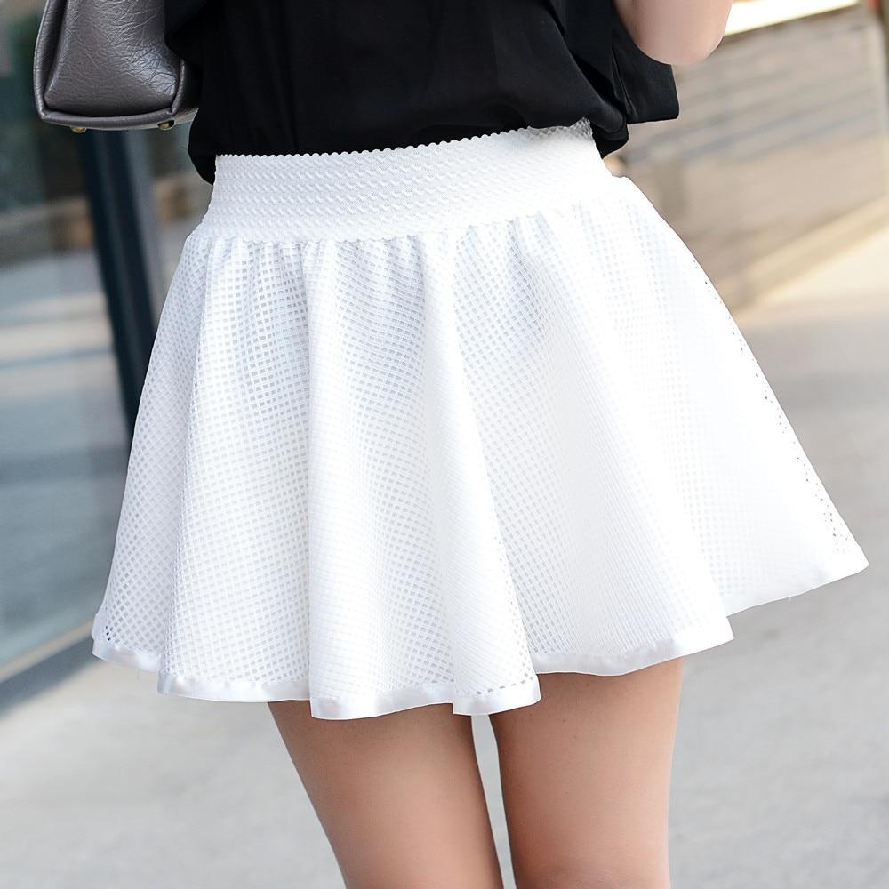 Summer 2016 New High Waist Mini Skirt Women Short Sexy -9088