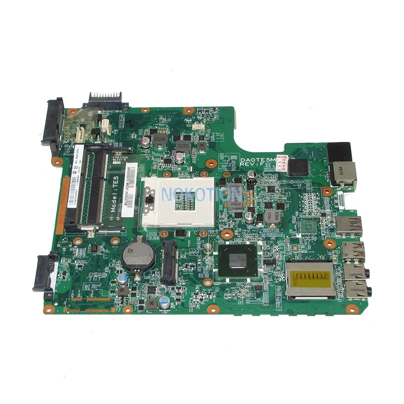 NOKOTION A000093070 Main Board For toshiba satellite L745 laptop motherboard 31TE5MB00G0 DA0TE5MB6F0 HM65 DDR3 full test nokotion laptop motherboard qfkaa la 8392p for toshiba satellite p850 p855 new k000135160 main board ddr3 hd4000 100% tested