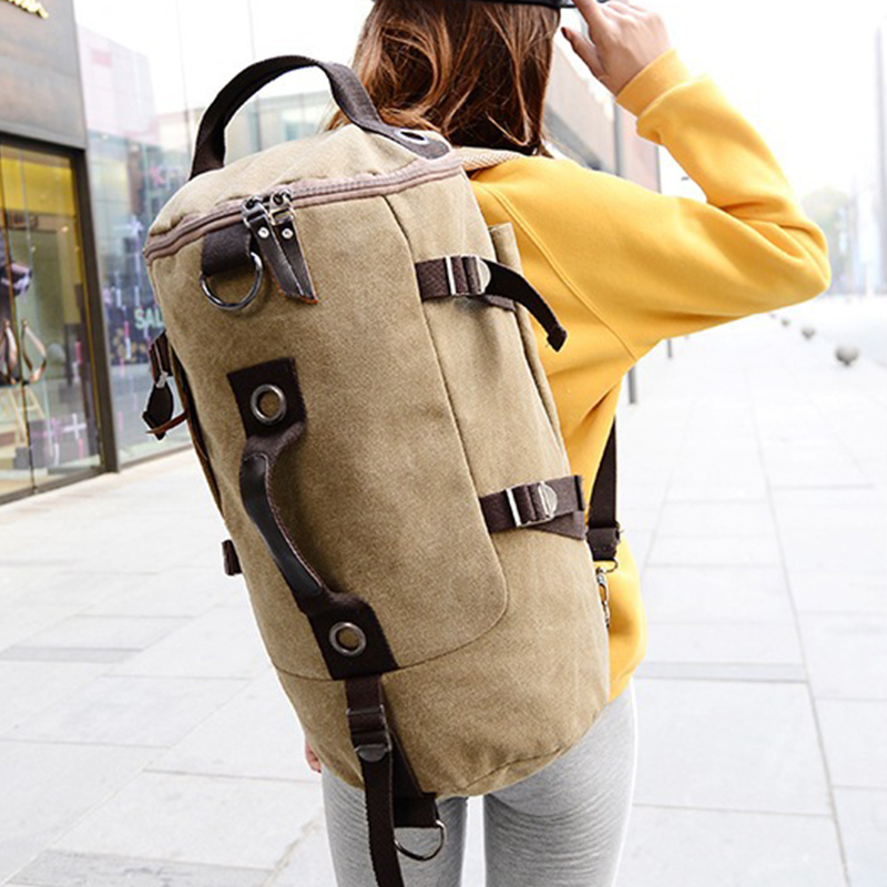 aosbos tambor bolsa de viagem Unique Design : Shoulder Bag, Backpack, Messenger Bag, Handbag
