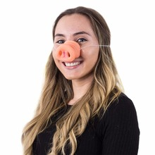 Halloween Pig Nose Clown Nose Dress Up Costume Props Funny Party Favor Silicone Latex Decoration Halloween Scary Mask Supplies стоимость