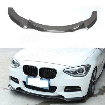 1 série aileron de plaque de lèvre avant pour BMW F20 116i 118i 125i M135i M Sport 2012-2016 pare-chocs menton pelle protecteur style de voiture
