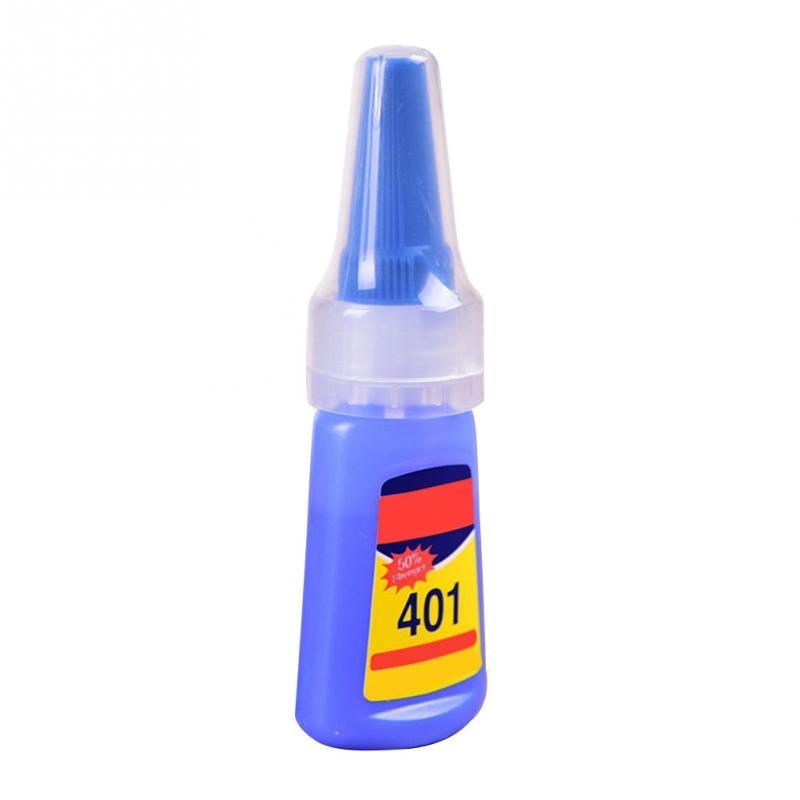 401 Rapid Fix Instant Fast Adhesive 20g Bottle Stronger Super Glue Multi-Purpose Handmade Jewelry Stone Quick Dry Universal Glue