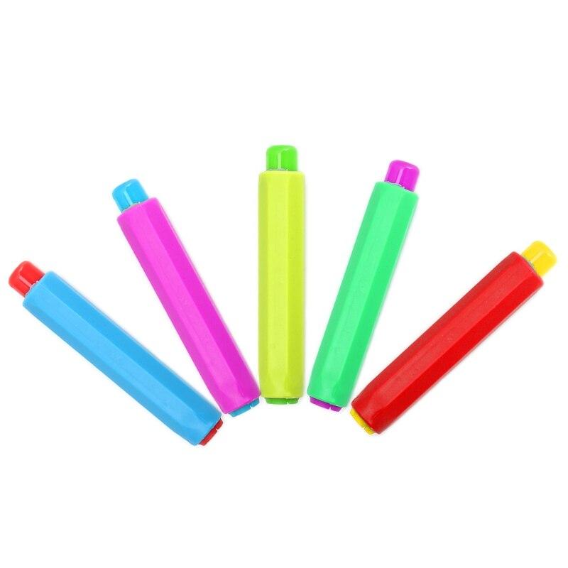 1 предмет красочные Мел Держатели чистке преподавания держать для учителя Детская домашняя школьный мел D14