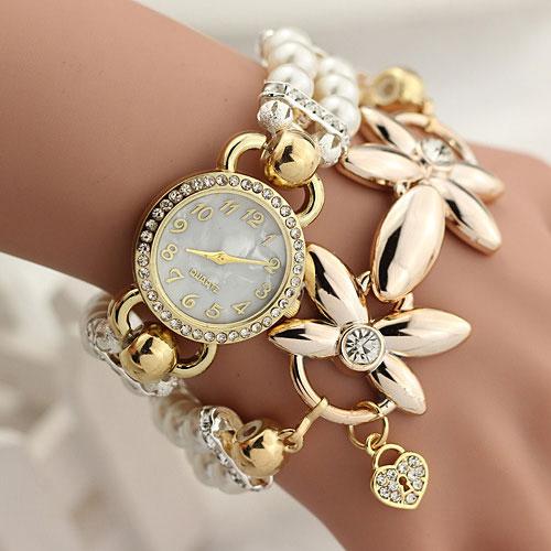 FLOWER GIRL Brand Quartz Watch Women Watches Ladies Luxury Female Wrist Clock Bracelet Wristwatch Montre Femme Relogio Feminino