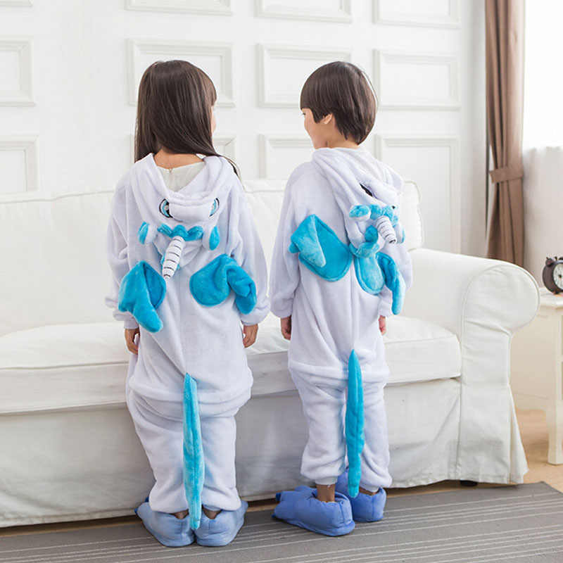 9a7fd7c9b9b8 Detail Feedback Questions about Kids Onesie Blue Unicorn Pajamas ...