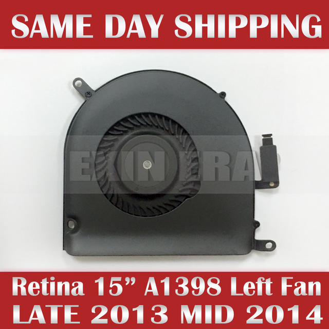 """Genuine NEW 610-0220 Left Side CPU Cooling Fan for Apple Macbook Retina 15"""" A1398 Late 2013 Mid 2014 Model: KDB06105HCA03AEL"""