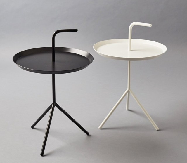 Hay dlm side table modern metal minimalist tea table don 39 t for Hay about a chair replica