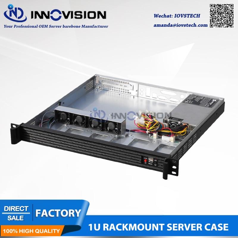 Elegant Compact 1U server case RC1420L 1u computer case 1U rack - Industrial Computers and Accessories - Photo 3