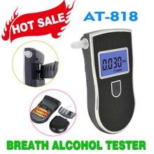 Горячая greenwon 818 Профессиональный цифровой дыхательный алкогольный Тестер Алкотестер Портативный детектор ЖК-дисплей Дисплей алкоголь тестер