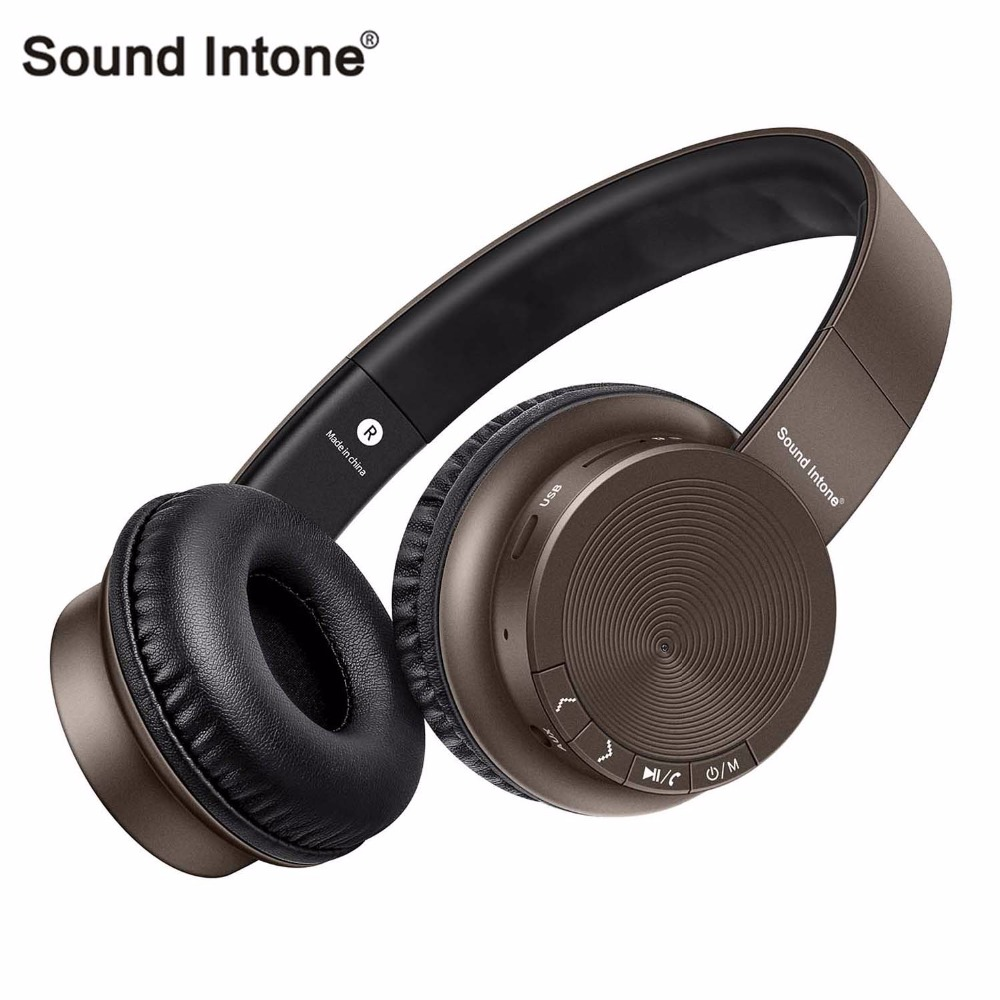Sound Intone P30 Bluetooth Headphones Wireless with Mic Support TF Card Stereo Bass headsets fone de ouvido For xiaomi For sony headphones bluetooth headphones wireless stereo headband fone de ouvido headset support tf fm radio handsfree with mic earphone