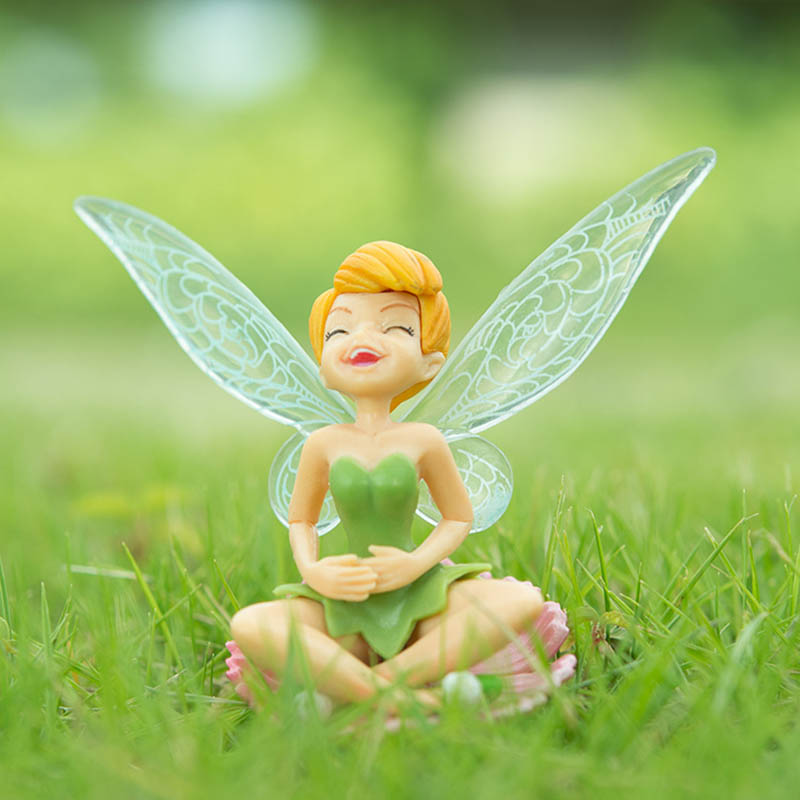 Tinker Bell figure Tinkerbell Fairy Adorable Action Figures Retail Dolls Gift For Children 6pcs/set Free Shipping-in Action & Toy Figures from Toys ...