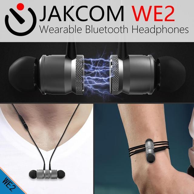 JAKCOM WE2 Smart Wearable Earphone Hot sale in Earphones Headphones as bleutooth earphone ulefon t2 pro dacom