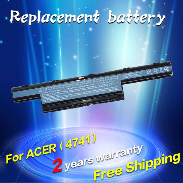 Jigu batería del ordenador portátil para acer travelmate 5742 5742g 5742z 5744 5744g 5744z 7340 7740g 7740z 7740zg 7750g 7750z p243 p453