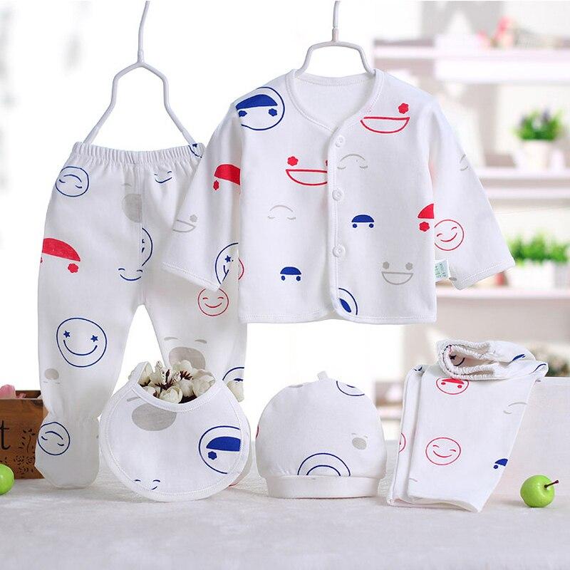 (5 sztuk / zestaw) noworodka Zestaw 0-3 M Zestaw Odzieżowy Marki - Odzież dla niemowląt - Zdjęcie 4