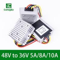 48V to 36V 5A 8A 10A Step Down DC DC Converter Reducer Boost Regulator Waterproof Voltage for Car Led Light